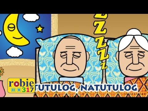 Natutulog Animated (Awiting Pambata) | Tagalog Nursery Rhymes