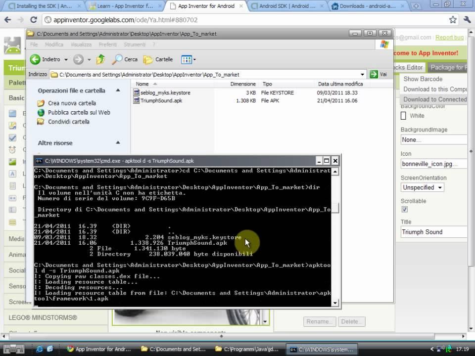 Tutorial - Come installare Android SDK e Sun Java JDK - parte 2