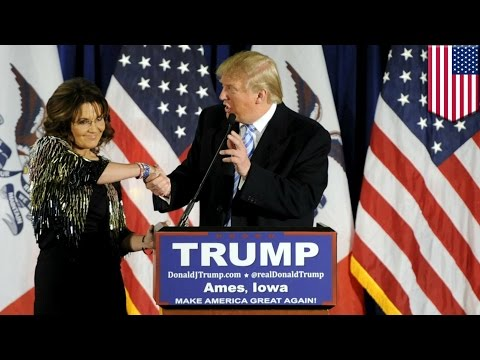 Trump Palin endorsement: mamma bear backs Donald Trump over Ted Cruz ahead of Iowa poll - TomoNews