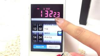 LCD Clock Lite iPhoneアプリ