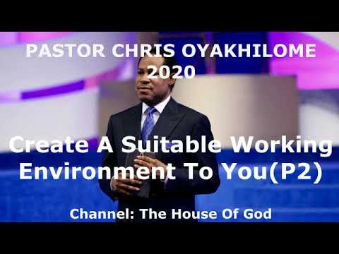 Download Pastor Chris Oyakhilome | Create A Suitable Working Environment To You p2 | February,  02 - 2020