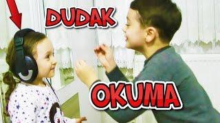 DUDAK OKUMA Oynadık -Öykü ve Emir - Eğlenceli Çocuk Videosu