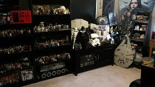 My Huge Star Wars Collection/Room Tour