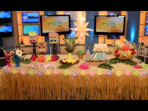 best hawaiian party decorations ideas