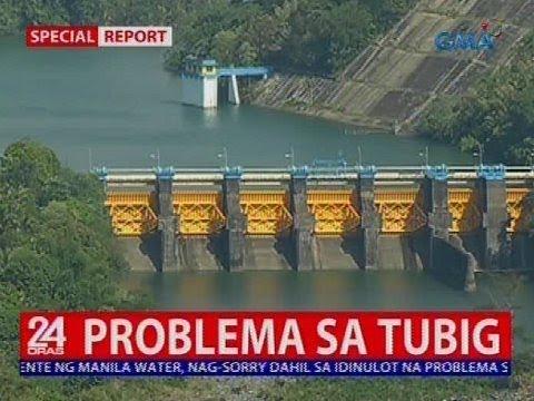 Tubig Na Sinu-supply Ng Manila Water, Hindi Na Raw Makasabay Sa Pangangailangan Ng Customer