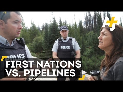 Canada's First Nations Vs. Harper's Pipelines