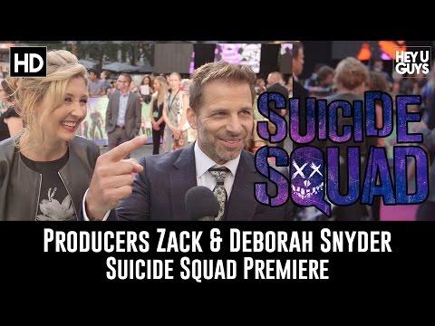 Producers Zack Snyder & Deborah Snyder Premiere Interview - Suicide Squad