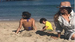 Suhana Khan sports a BIKINI on a holiday with mom Gauri & bro Abram