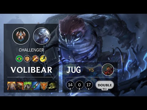 Volibear Jungle vs Graves - BR Challenger Patch 10.19