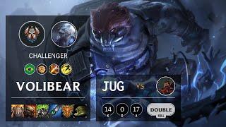 Volibear Jungle vs Graves - BR Challenger Patch 10.19