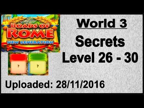 Roads of Rome - New Generation (PC) Geheimnisse, Secrets 26 - 30