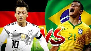 DEUTSCHLAND - BRASILIEN 0:1 / 27.03.2018 Fussball Länderspiel / FIFA 18 Prognose / Deutsch