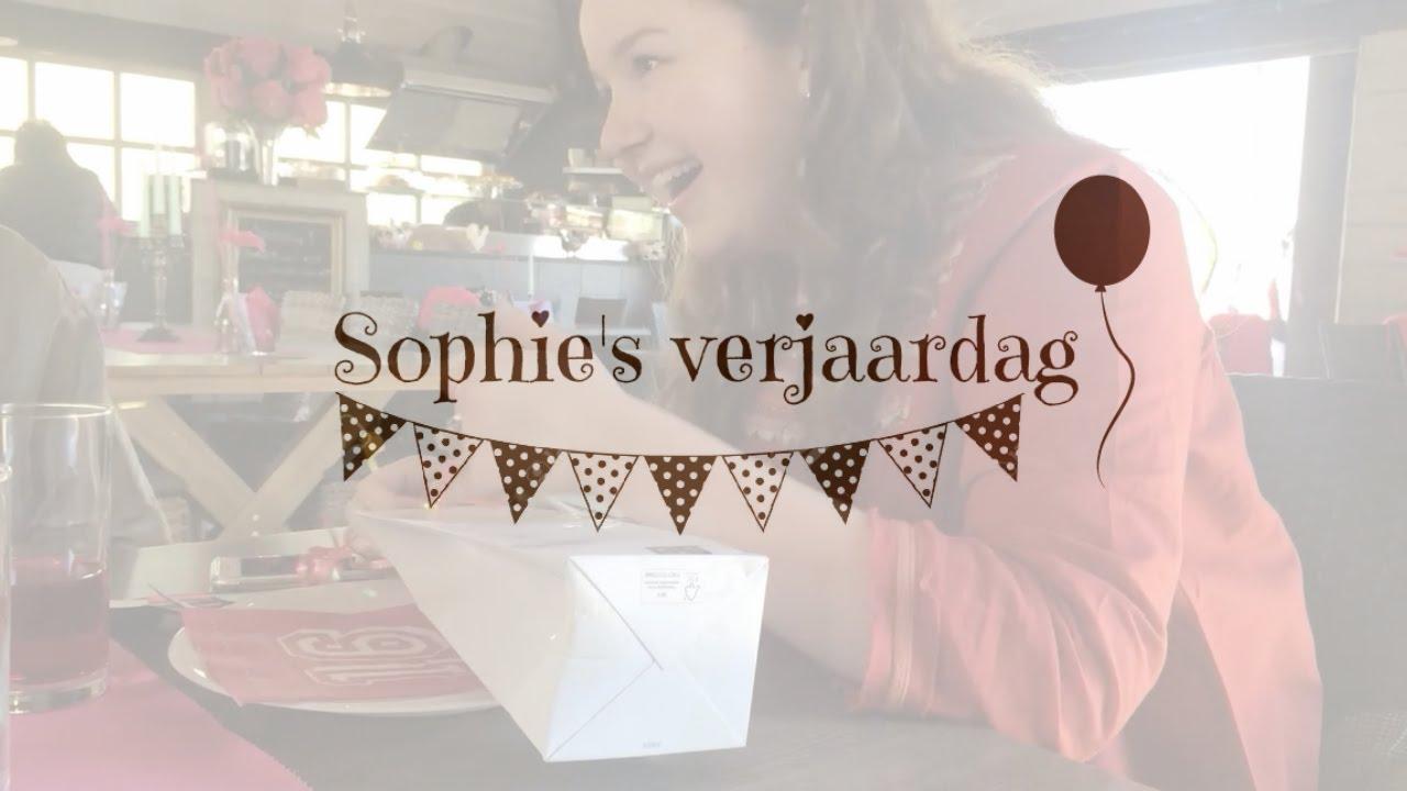 Gefeliciteerd Sophie Verjaardag Youtube