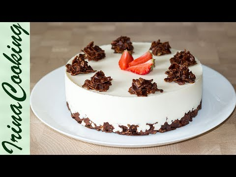 ТВОРОЖНЫЙ ТОРТ БЕЗ ВЫПЕЧКИ ПЛОМБИР | No-Bake Cheesecake Sundae