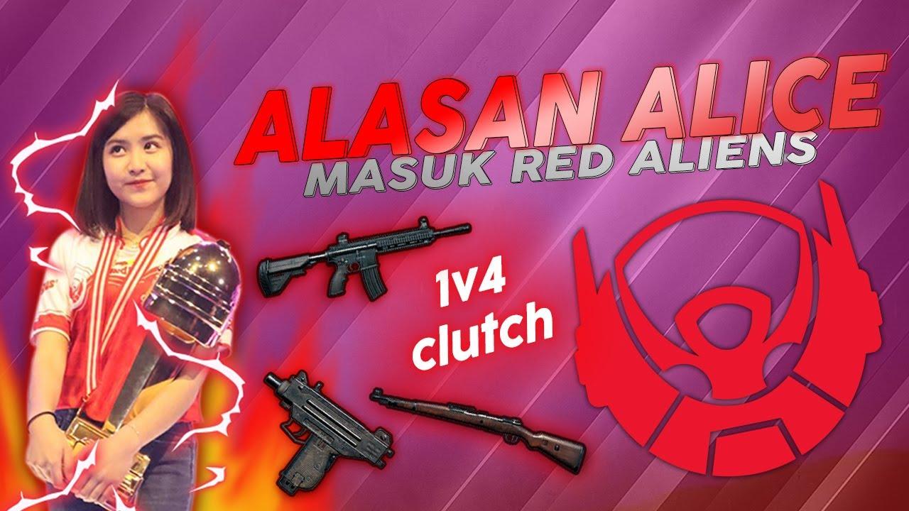 INI YANG BIKIN ALICE MASUK KE RED ALIENS - PUBG Mobile Indonesia