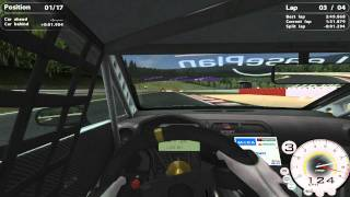 STCC 2 GAMEPLAY ON SPA GP IN HD WITH G27