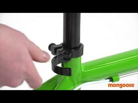Mongoose Assembly Guide - Quick Release Seat Post
