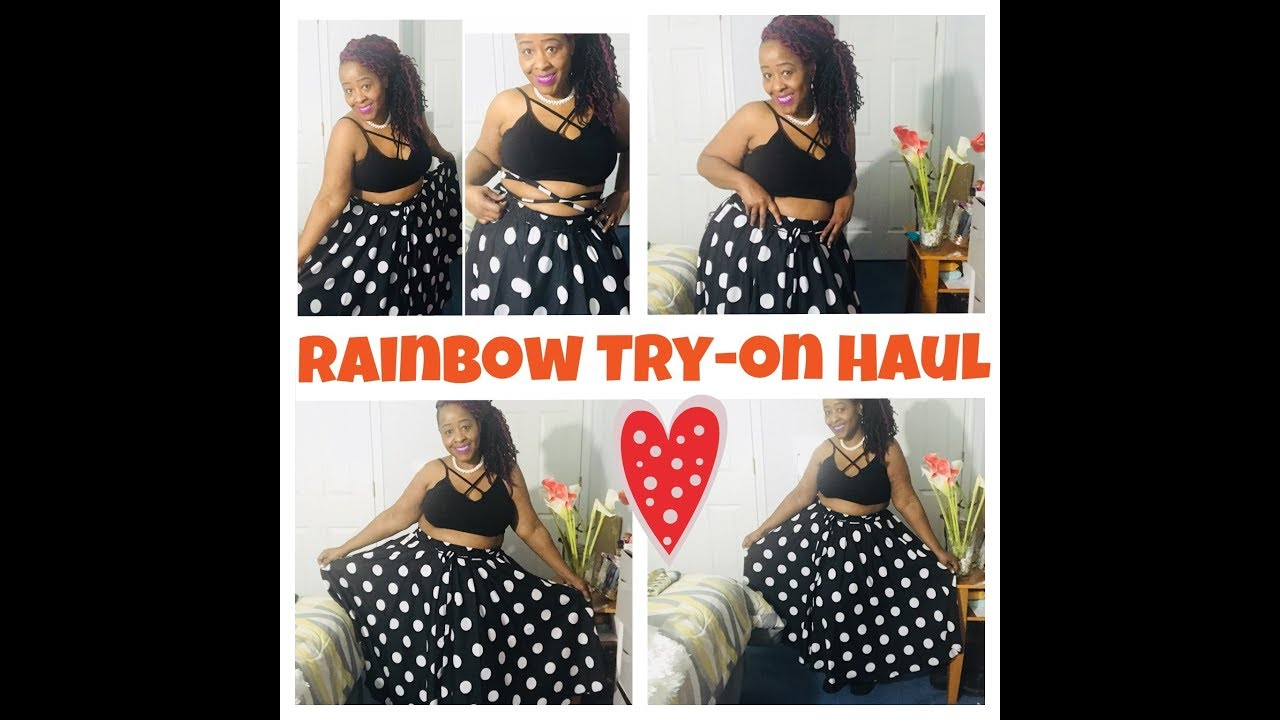 699657f9bb YES INDEED! SLAY ON A BUDGET! PLUS SIZE RAINBOW SHOPS HAUL!