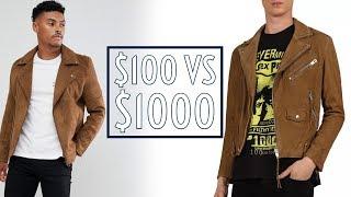 Worth It? $100 vs $1000 Suede Moto Jackets    Cheap vs Expensive    Men's Fashion    Gent's Lounge