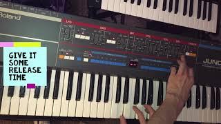 Nangs sound on a Juno 106