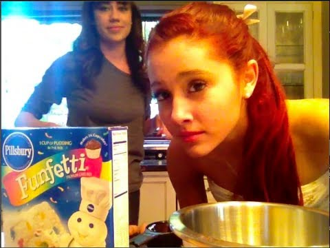 Miranda Sings And Ariana Grande Make A Cake