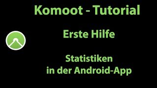 Komoot Erste Hilfe - Statistiken auf Android auswerten