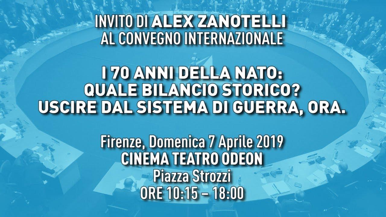 INVITO DI ALEX ZANOTELLI  AL CONVEGNO INTERNAZIONALE (IT/EN/PT/RO/NL/FI/DAN/RU/SV/FR/DE/SL)
