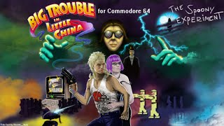 Big Trouble in Little China (Commodore 64) Review