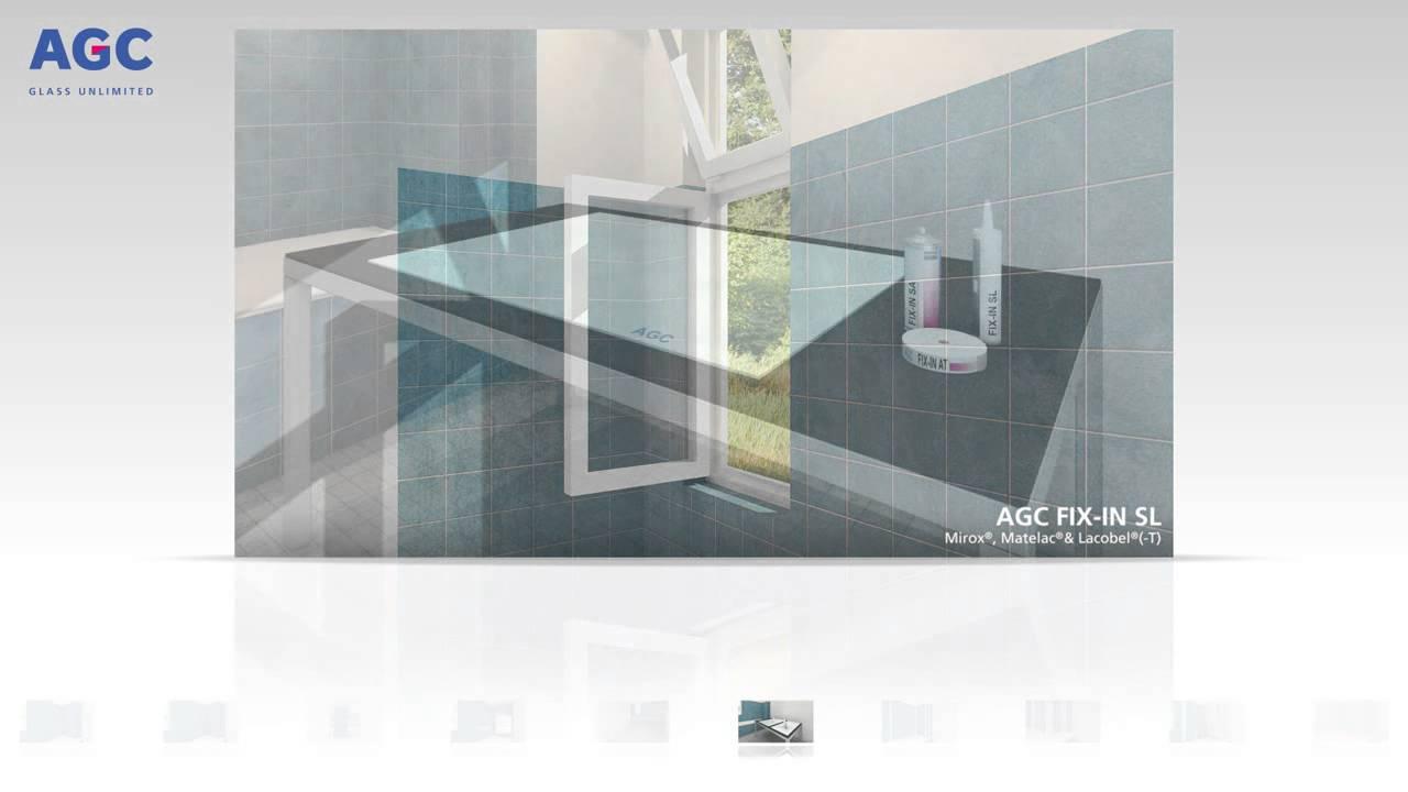 tuto rev tement mural en verre sur carrelage existant glastetik youtube. Black Bedroom Furniture Sets. Home Design Ideas