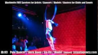 ID-93 (04) Ballerina Pole Dance / Cubista per Locali, Discoteche ed Eventi da intentagency.com
