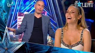 The beautiful PROMISE of this humorist to his deceased wife | Auditions 7 | Spain's Got Talent 2021