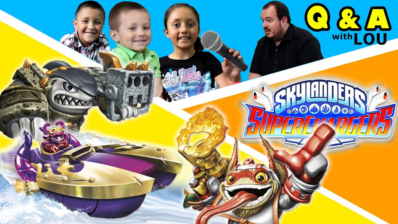 skylanders superchargers q a interview w skylander boy and girl