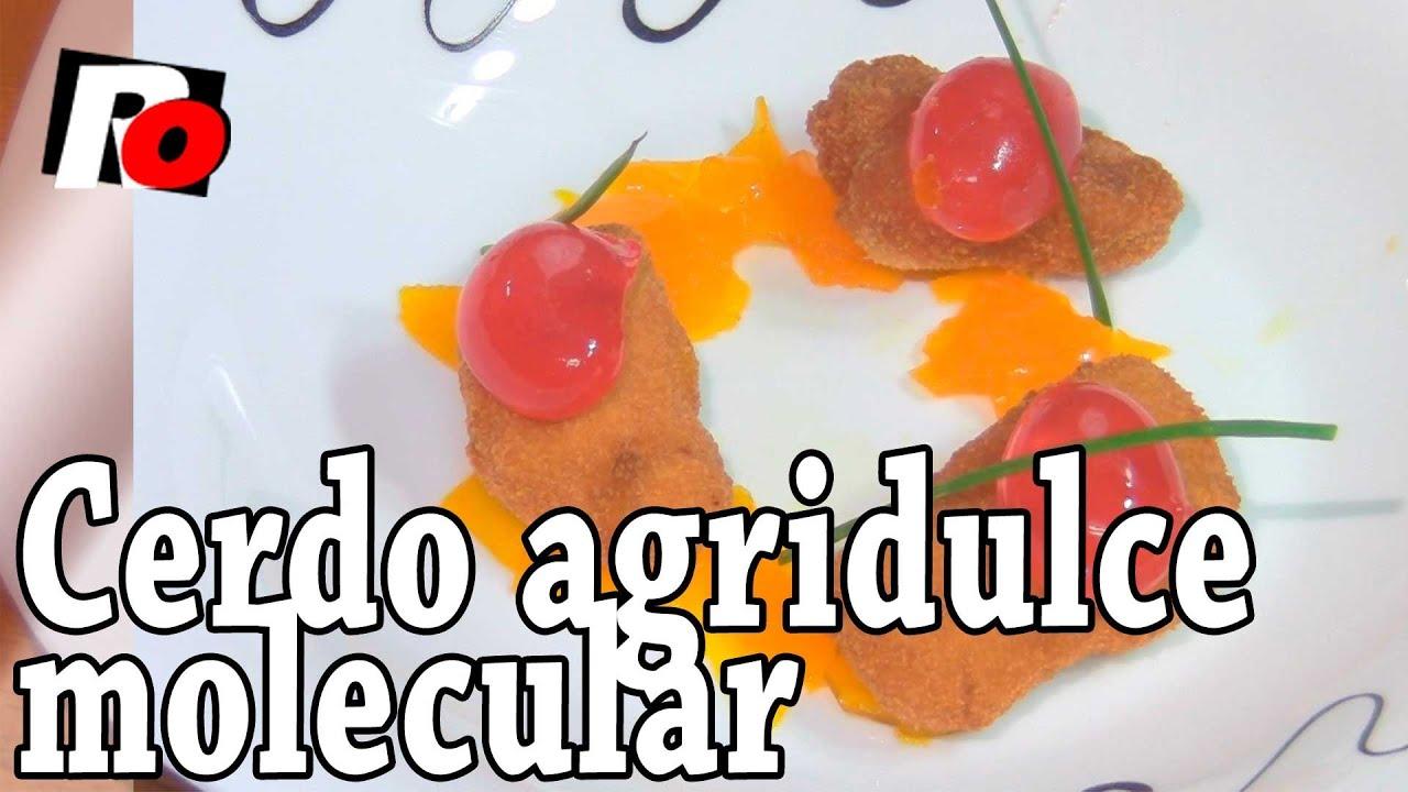 Cerdo agridulce molecular recetas de cocina youtube for Quimicos para cocina molecular