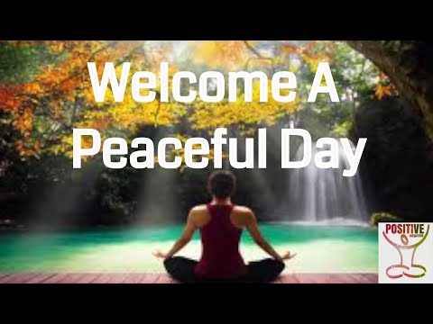 Daily Morning POSITIVE ENERGY Boost Meditation To Embrace Peace Calm Anxiety Worry Fear Urgency