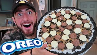 DIY GIANT OREO PIZZA (WORLD RECORD)
