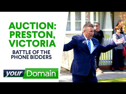 Couple bids on two property auctions at once  | Your Domain