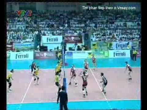 Giải bóng truyền nữ quốc tế VTV cup 2011 Korea Vs China Part 1