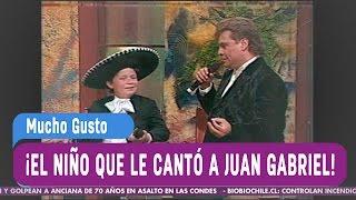 El niño que le cantó a Juan Gabriel - Mucho Gusto 2016