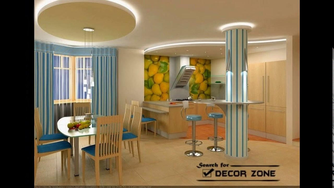 False ceiling designs for kitchen - YouTube