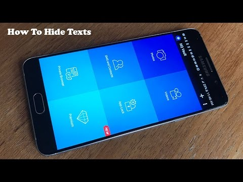 How To Hide Text Messages On Galaxy S7 / S7 Edge / Note 5 - Fliptroniks com