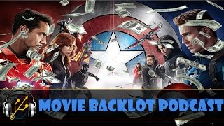 Civil War Wins Box Office, New Han Solo, Space Jam 2, Rated R Wolverine 3  | MBP 95