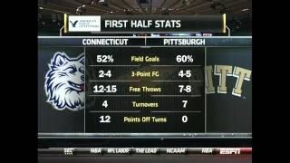 UConn vs. Pittsburgh - Quarterfinals - 2011 Big East Tournament