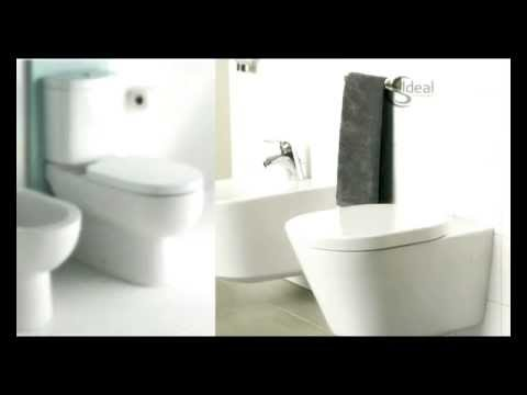 Ideal standard wc video youtube for Cuvette wc ideal standard