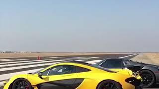 McLaren P1 vs Porsche 918