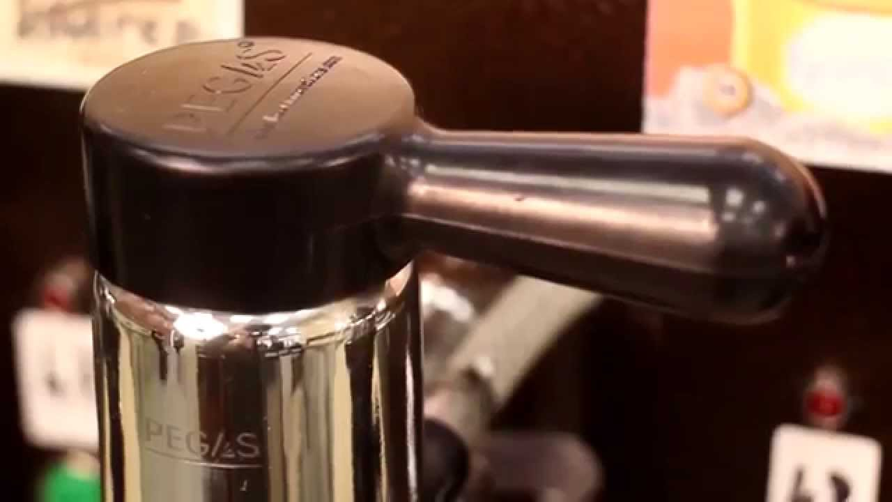 PEGAS Evolution- Foam-Free Growler tap - YouTube