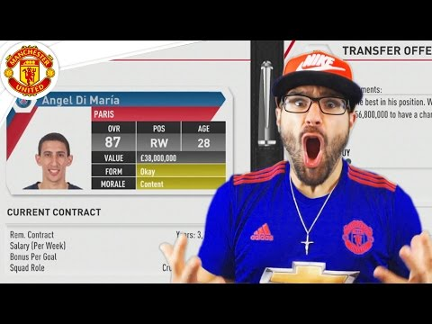 $500,000,000 ON PLAYERS! Manchester United FIFA 17 Career Mode #07