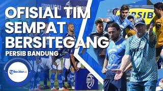 Ofisial Persib Bandung Dan Bhayangkara Fc Sempat Bersitegang Di Lapangan, Ini Sebabnya