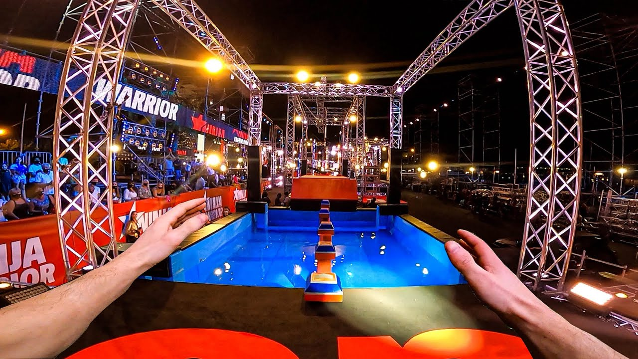 LATE FOR NINJA WARRIOR (Extreme obstacle course POV)