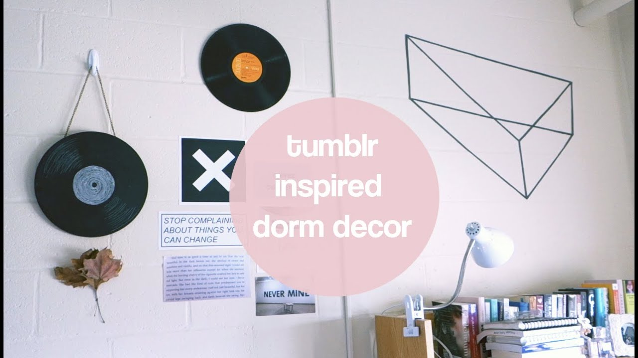 diy dorm room decor - clark university - wright hall | psithuria