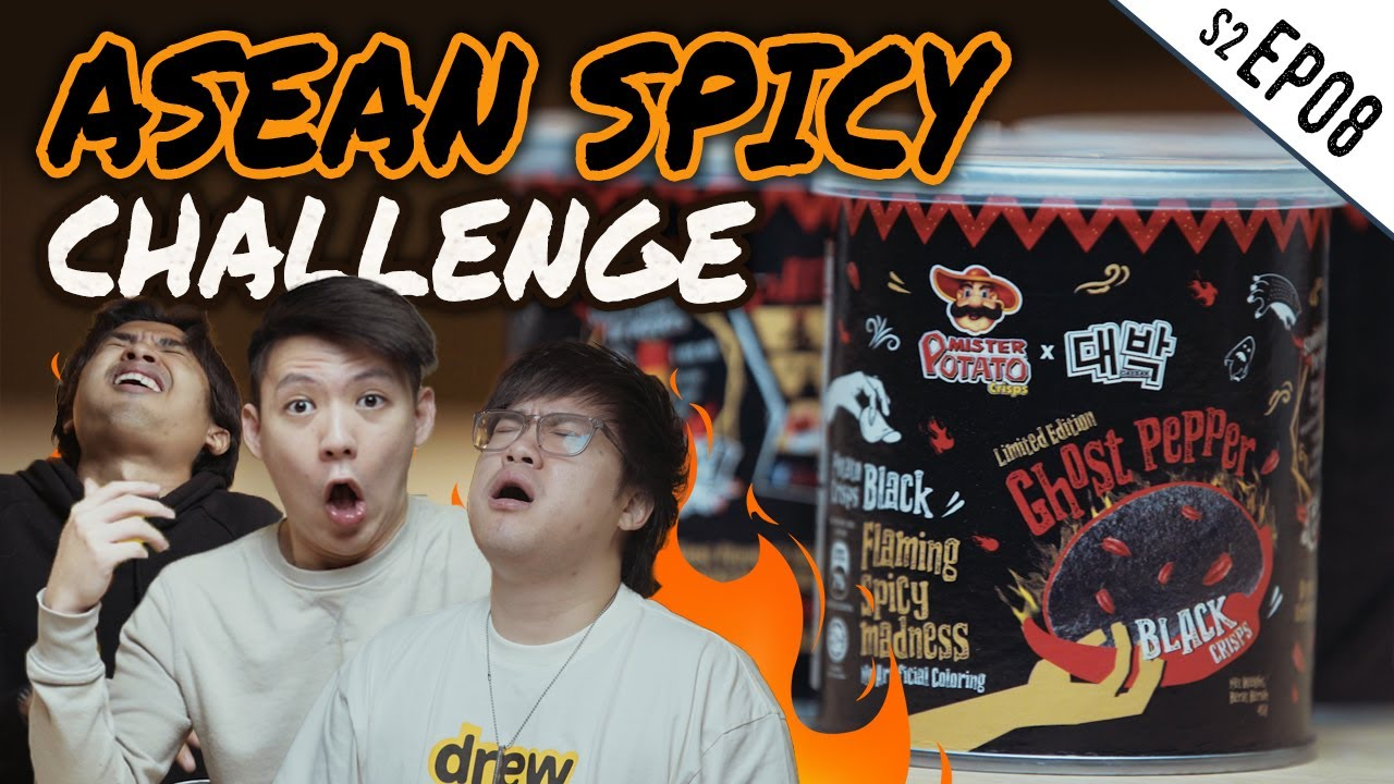 Hot Guys S2.Ep8 - GHOST PEPPER CHIPS CHALLENGE!